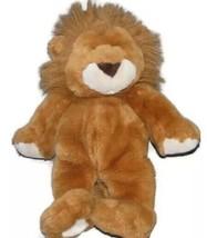1999 COMMONWEALTH Plush LION Brown Mane Bean Bag Stuffed Animal Toy Sitt... - $39.19