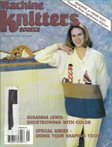 Machine Knitters Source Jan Feb  1998 Magazine Coquille River Lighthouse... - $5.99