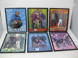 Lot of 6 NSYNC Framed 8x10 Photos No Strings Attached Justin Timberlake ... - $79.19
