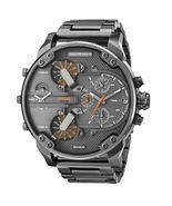 New Diesel Mr Daddy 2.0 Gunmetal Orange Chronograph 4 Time Zone Men Watch DZ7315 - £111.86 GBP