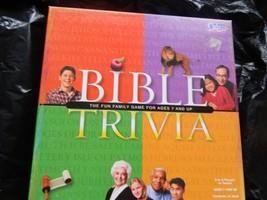 Bible Trivia 1984 Cadaco Board Game--Complete HTF - $12.00