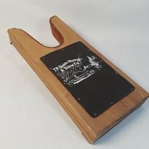 T P Saddle Blanket Cowboy Boot Jack Wood Leather Tasha Polizzi Company - $14.84