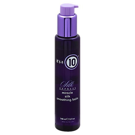 Its a 10 Miracle Silk Smoothing Balm  5oz