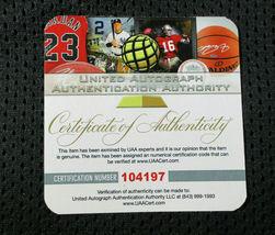 ALONZO MOURNING / NBA HALL OF FAME / AUTOGRAPHED MIAMI HEAT CUSTOM JERSEY / COA image 7