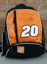TONY STEWART NASCAR Signed BACKPACK Home Depot Collectible Racing BAG - ₹1,330.24 INR