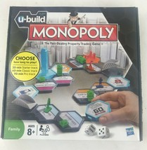 U-BUILD MONOPOLY The Fast Dealing Property Trading Game, Hasbro - $32.71