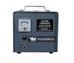 Thunderbull Voiturette de Golf Chargeur, 36V 20A, avec Crowfoot Prise Co... - $388.35