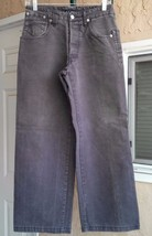 "Armani Men's Jeans ECO-WASH P-05 Size 30 X 28"". Gray Color. - $19.99"