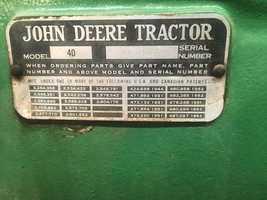 1954 John Deere 40 For Sale in Niobrara, Nebraska 68760 image 2
