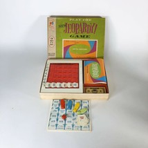 Vintage Play The NEW Jeopardy Board Game-5th Edition #4457 1964 Complete - $19.11