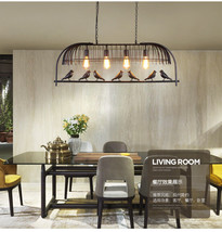 Industrial Bird Pendant Chadelier E27 Light Centrelight Ceiling Lamp Har... - $108.90+