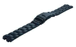 Kreisler Tech 22mm Smart Watch Stainless Steel Black Pebble Watch Bracelet - $12.84
