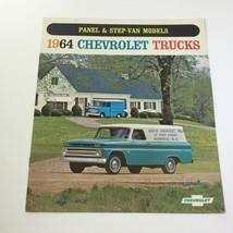 1964 Chevrolet Trucks Panel & StepVan Models Series P20 P30 Car Catalog Brochure - $18.53