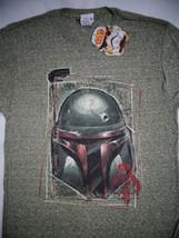 Star Wars Movie  Boba Fett Bounty Hunter Military Snow Heather T-Shirt - $15.00