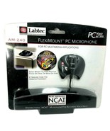 VINTAGE 1998 Labtec AM-240 Flexneck Microphone Uni-Directional NCAT  - $18.99
