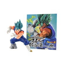 Dragon Ball Super Saiyan God Blue Vegito Final Kamehameha PVC Action Figure Toy - $19.99