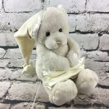 Baby GUND My First Nighty Nights Teddy Bear Plush Sounds/Lights Musical ... - $24.74