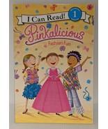 I Can Read! Pinkalicious Fashion Fun Beginning 1 Reading Victoria Kann L... - $7.79