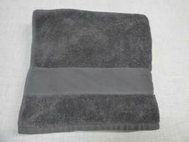 $32.00 Lauren Ralph Lauren Sanders Antimicrobial Cotton Bath Towel, Charcoal - $11.14
