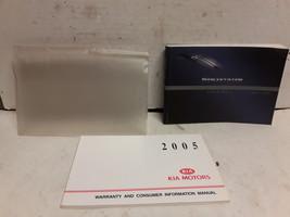 2005 Kia Sportage Owners Manual by Kia - $19.79