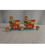Disney Doorables Mini Stack Playset 2 Hooks Pirate Ship Figures - $15.85