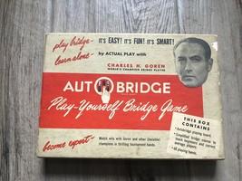 Auto Bridge Set Play Yourself Bridge Game - $28.04