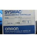 Omron C60K-CDS1-A SYSMAC Programmable Controller New - $1,484.01