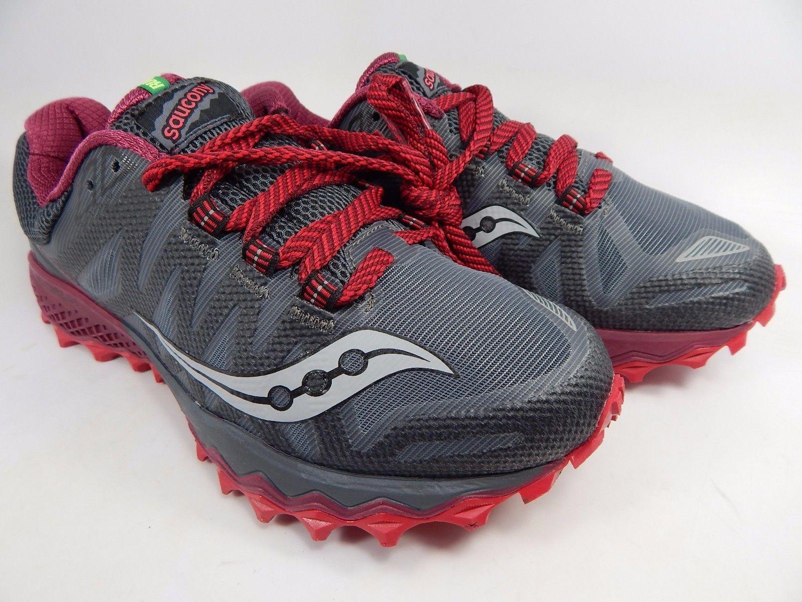 Saucony Peregrine 7 Women's Trail Running Shoes Size US 8.5 M (B) EU 40 S10359-1
