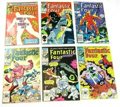 6 Vintage 1980s Fantastic Four Marvel Comic Books 234, 278, 289, 298, 29... - $29.99