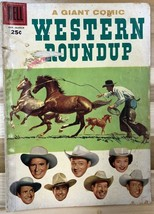 WESTERN ROUNDUP #17 (1957) Dell Giant Comics VG - $9.89
