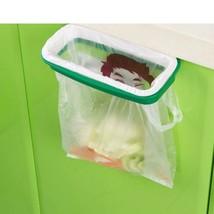 Trash Garbage Bags Storage Rack Hanging Rubbish Holder Back Hook Style S... - $4.99