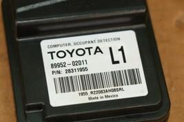 Toyota Seat Occupant Detection Sensor Module Computer 89952-02011 (L1) image 2