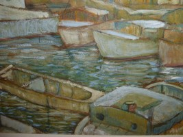 Watercolor on Paper Signed by Artist E. Willis - $199.00