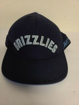 Memphis Grizzlies Fitted Size 7 1/2 NBA Cap/Hat Reebok Blue 100% Wool  - $13.25