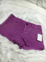 Free People women shorts size W 26 purple jeans b18 - $10.39