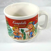 Campbells Soup Mug Cup by WestWood Vintage 1998 Kids Vegetable Garden  - $9.89