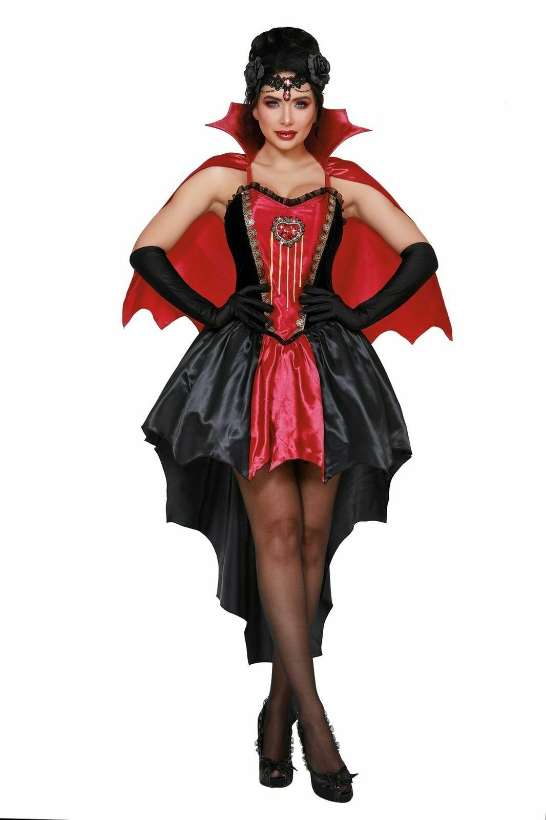Dreamgirl Drop Dead Beau Vampire Diable Adulte Femmes Halloween Costume 11577