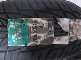 NOS ULTRA HPR RADIAL GT Tire 205/50R16 87H DOT 1804 image 1