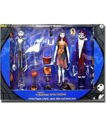 NECA Nightmare Before Chistmas Action Figure Boxed Set 3-Pack Jack, Sall... - $212.84