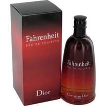 Christian Dior Fahrenheit 6.8 Oz Eau De Toilette Cologne Spray image 2