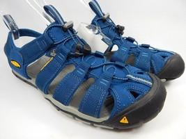 Keen Clearwater CNX Sport Sandals Men's Size 9 M EU 42 Poseidon / Neutral Gray