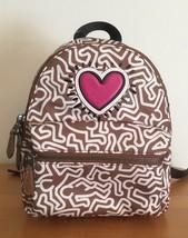 COACH x Keith Haring 11774 ~ Mini Charlie BACKPACK Bag ~ Saddle w/ Heart... - $122.95