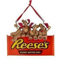 Hershey's™ Bears On Reese's Chocolate Ornament w - $13.99