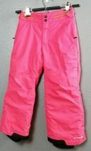 Columbia Snowboard Ski Pants Omni-tech Size Kids 6/6X Unisex Grow System... - $29.99
