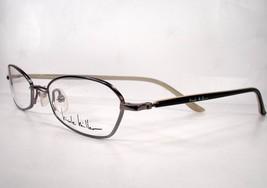 Nicole Miller Cutaway Black Women Eyeglasses Eyewear Frames - $78.18
