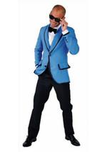 """Gangnam Style""  , 80's Prom style Jacket , Light blue - $31.81"