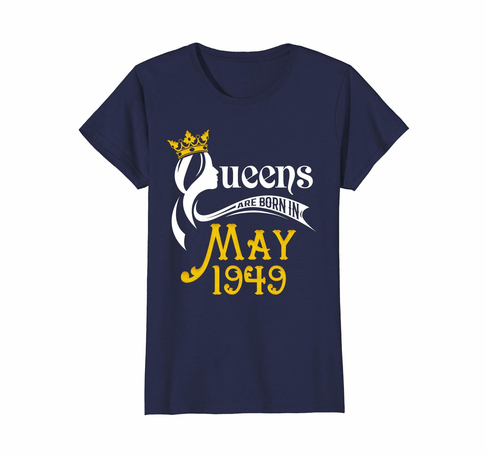 Uncle Shirts -   Queens Are Born In May 1949 - 69th Birthday Gift Shirt Wowen image 3