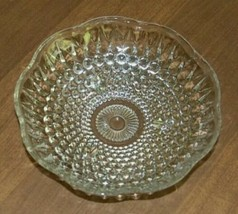Vintage Anchor Hocking 3-Toed Footed Clear Hobnail Candy Dish Bowl - $11.88