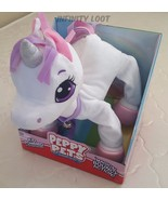 Peppy Pets Magical Bouncy Action Unicorn Interactive Pet Walks Like a Re... - $54.45