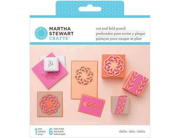 Martha Stewart Crafts-Cut and Fold Punch, Dahlia